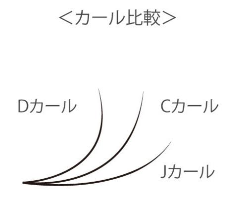 マツエクカールの種類図